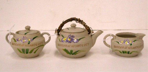 1216: Early 20th c. Atlantic City Porcelain Tea Set