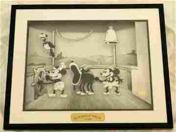 Disney Animated Animation Steamboat Willie