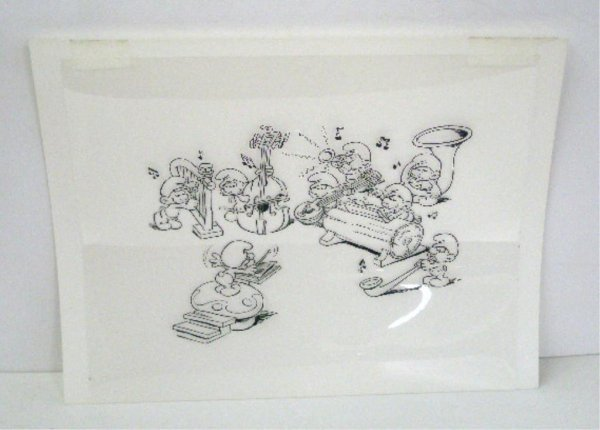 2000B: 1980's The Smurfs Animation Cel