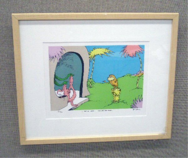 2004: Dr. Seuss Limited Edition Lithograph