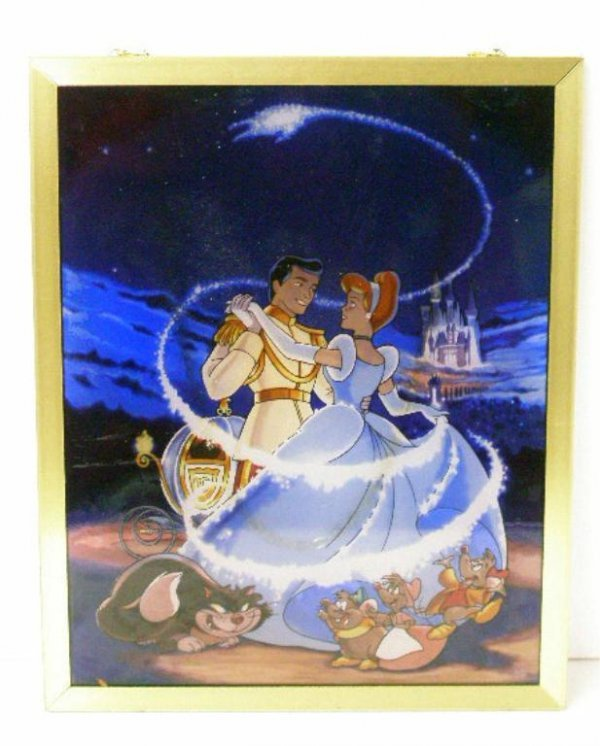 2015: Cinderella Anniversary Stained Glass Panel