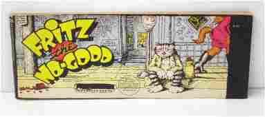2017 Robert Crumb Fritz The Cat Comic Book
