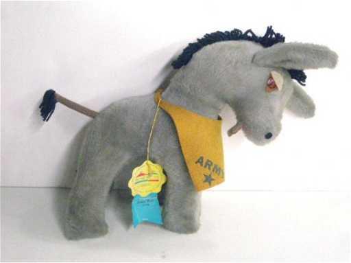 2133 1960 S Army Mule Stuffed Animal Toy