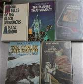 Asimov Isaac Five Signed Books