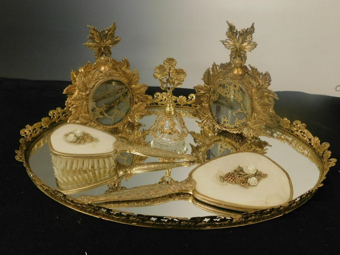 6 Pc Vanity Set