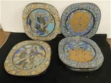 5 Bjorn Wiinblad / Rosenthal Plates