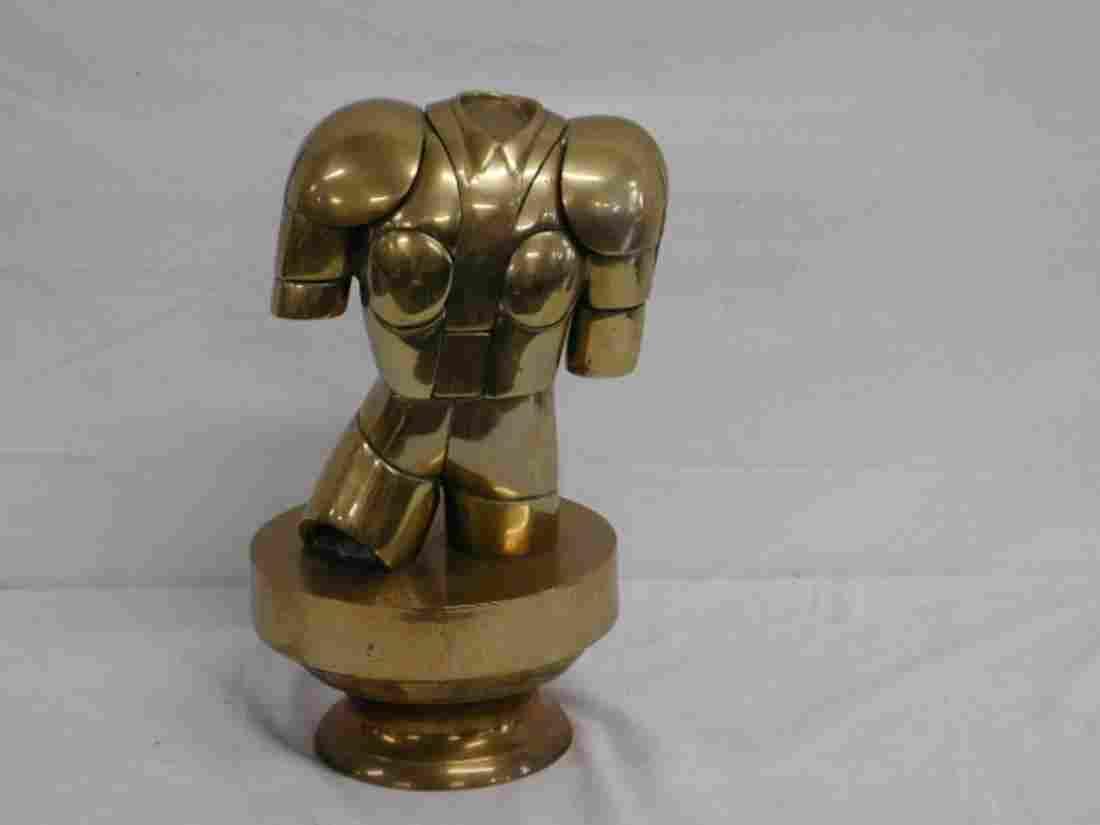 Miguel Berrocal Torso Armor Sculpture