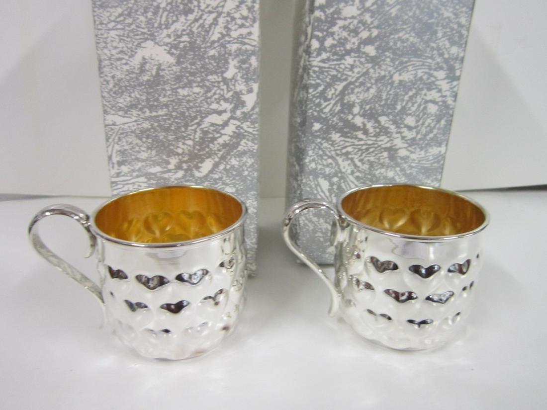 2 Pampaloni Sterling Mugs