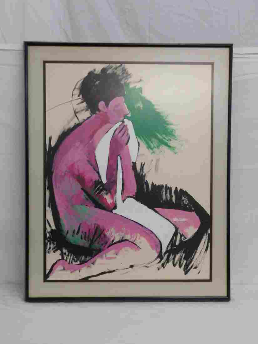 Gauche Nude Painting