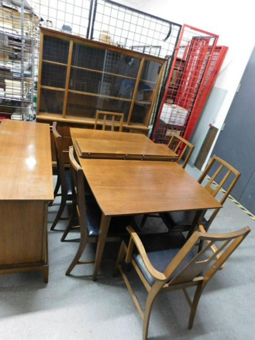 Danish Modern 9 Pc Dining Room Set