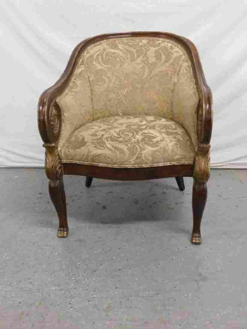 Stylized Arm Chair