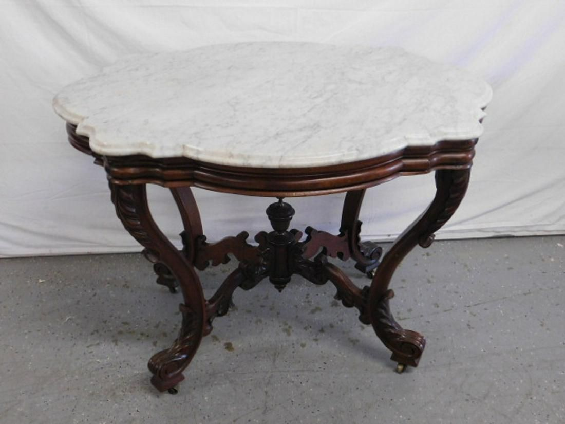 Victorian Renaissance Revival Center Table