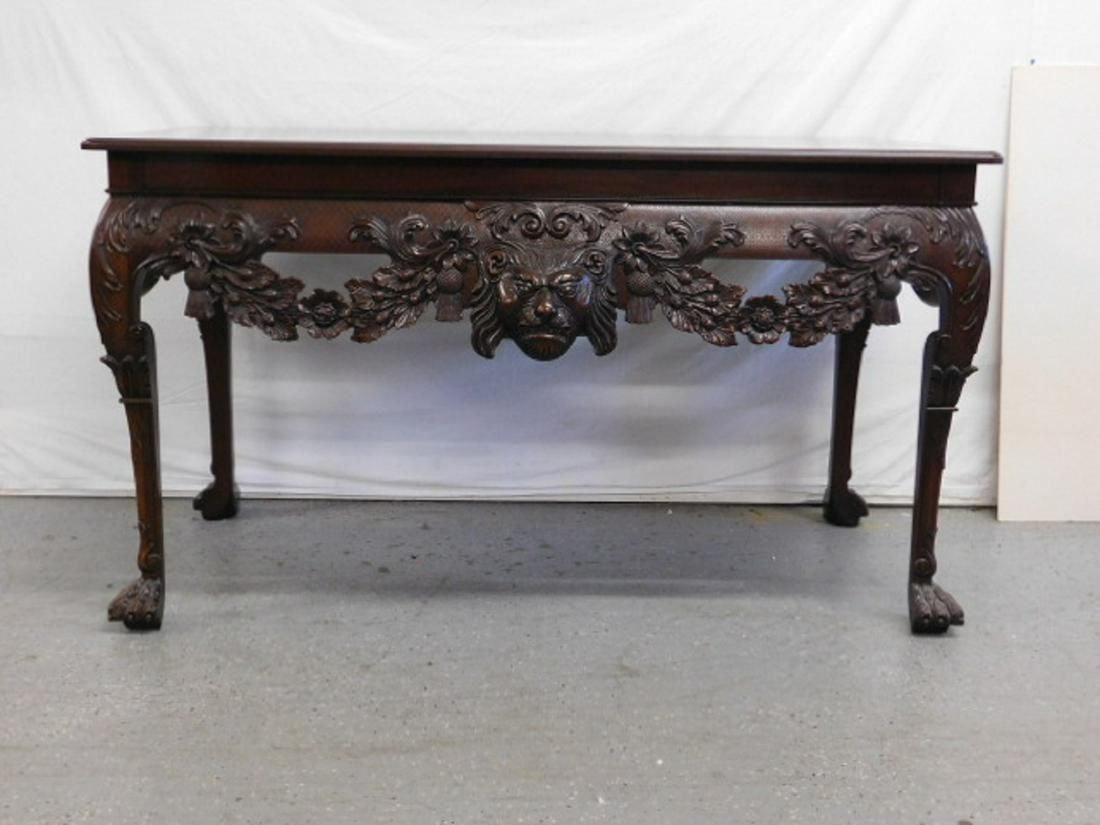 Georgian Style Baker Furniture Co. Console Table