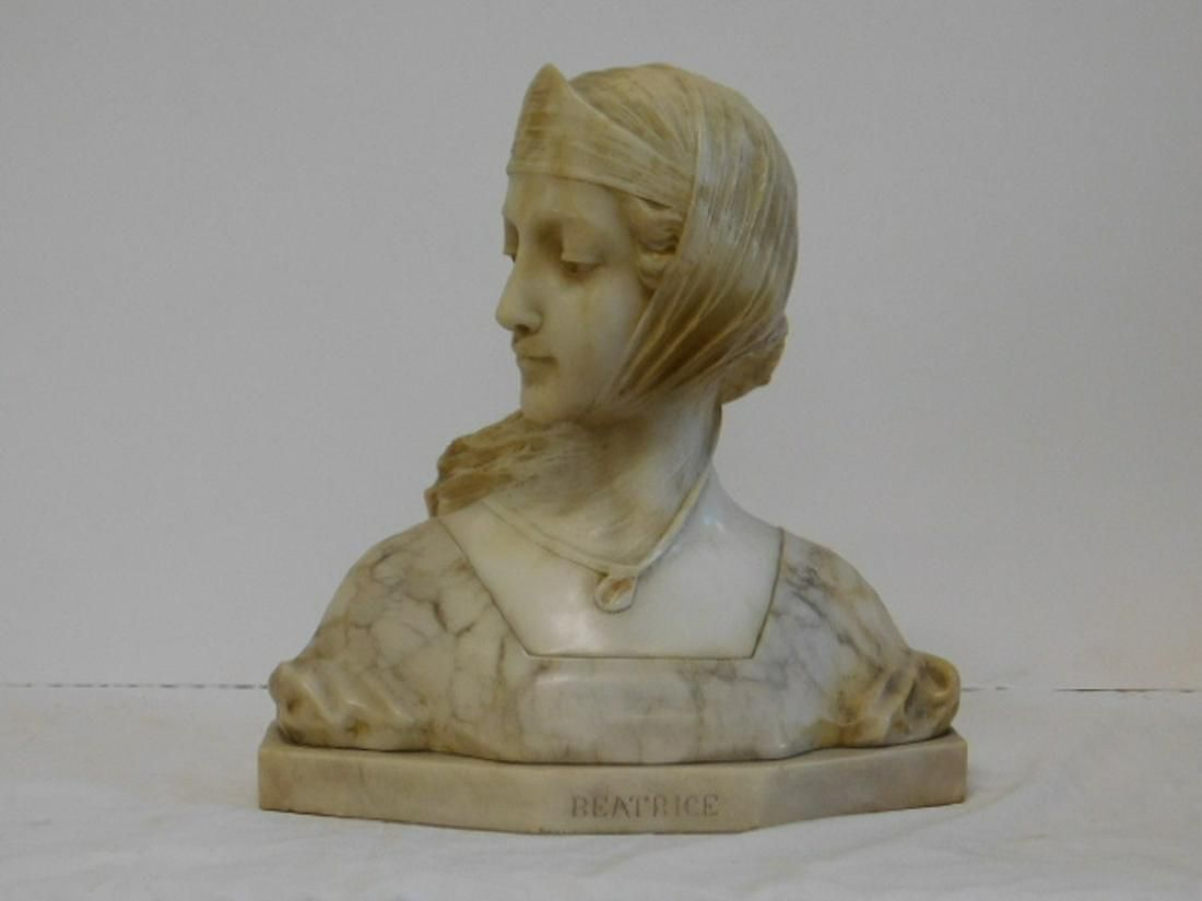 A. Gennay Marble Bust