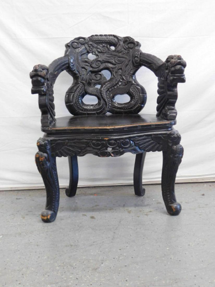 Japanese Meiji Period Export Furniture circa 1920,