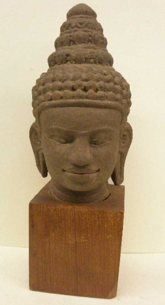 2004: Chinese Carved Stone Bust