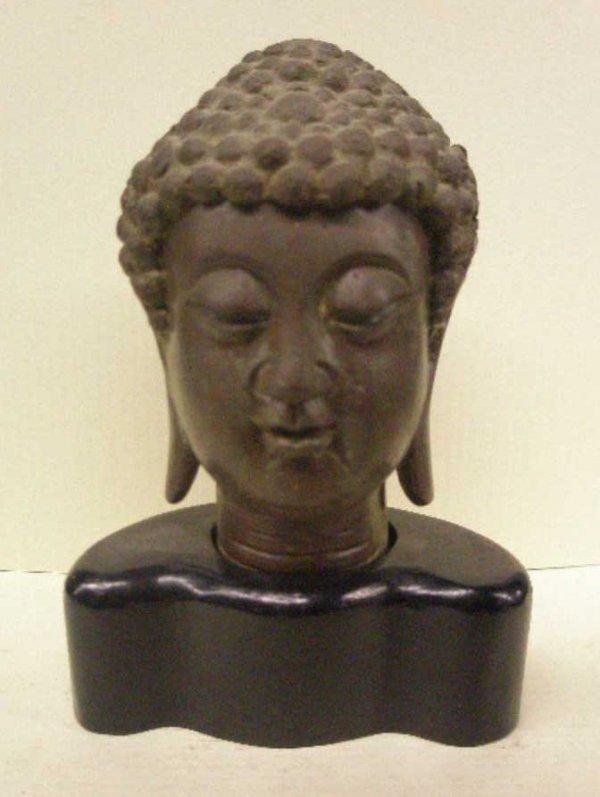 2006: Chinese Bronze Buddha Bust