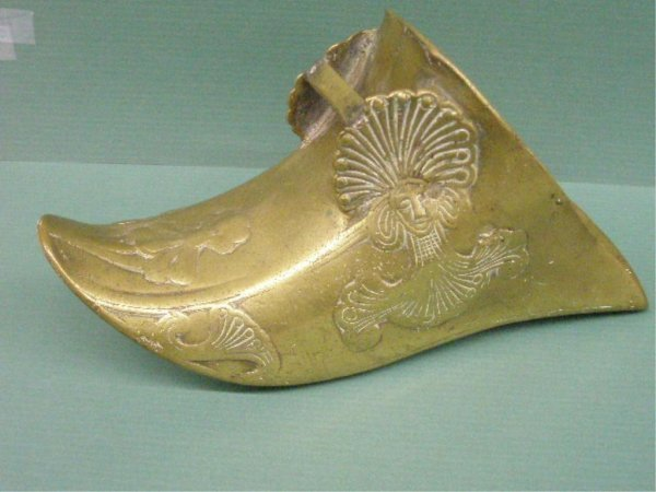 2008: Chinese Brass Stirrup in Shoe Form