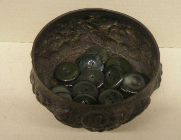 2012: Oriental Repousse Silver Small Bowl