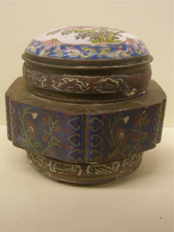 2013: Chinese Cloisonne Covered Jar