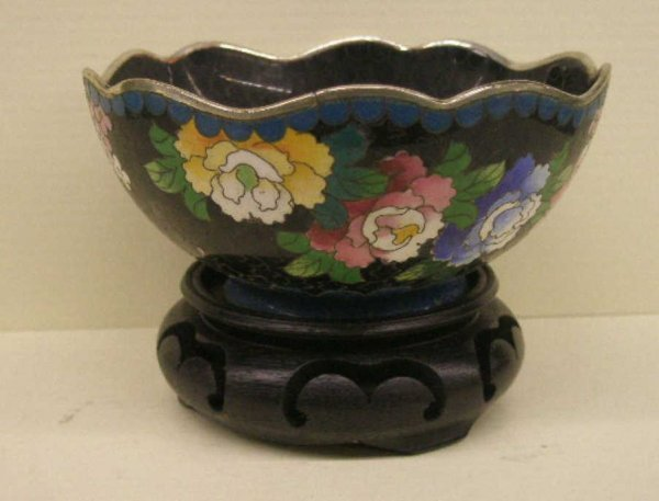 2014: Chinese Cloisonne Rice Bowl