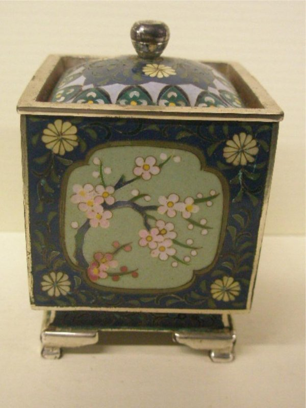 2016: Chinese Cloisonne Tea Caddy