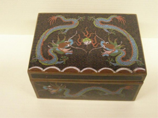 2017: Chinese Cloisonne Covered Box
