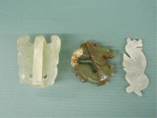 2022: 3 Chinese Jade Carvings