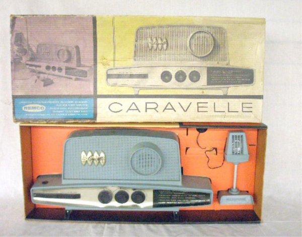 Remco Caravelle Radio Transmitter/Receiver