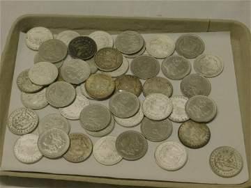 46 Morgan Silver Dollars