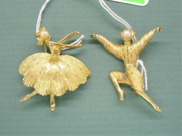 BSK Male & Female Ballerina Pins