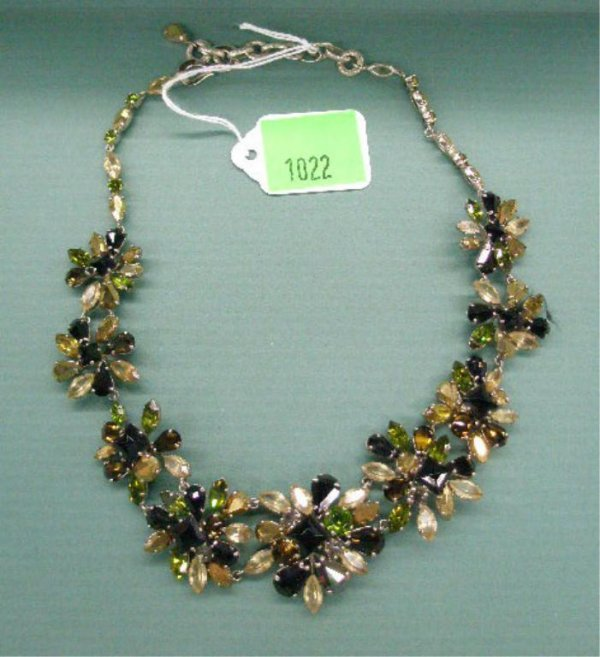1940s French Costume Necklace