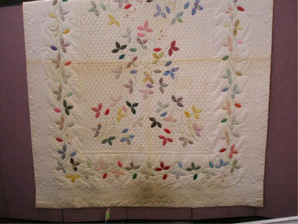 Early 20th c. Floral Applique Quilt