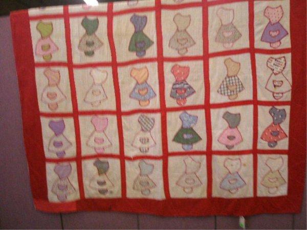 Sun Bonnet Baby Pattern Quilt