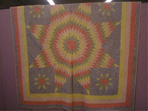 Early 20th c. Star Pattern Quilt