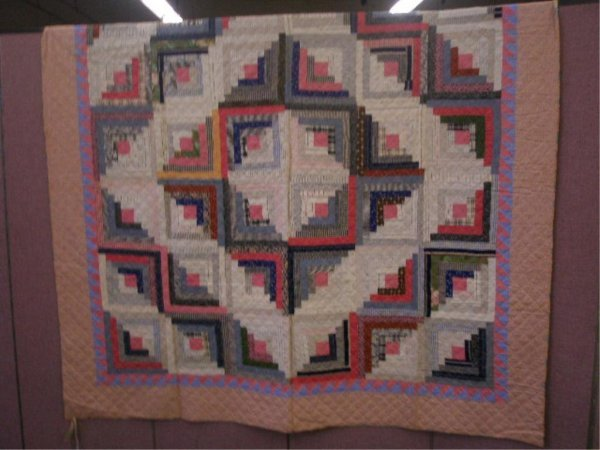 Late 19th/Early 20th c. Block Pattern Quilt