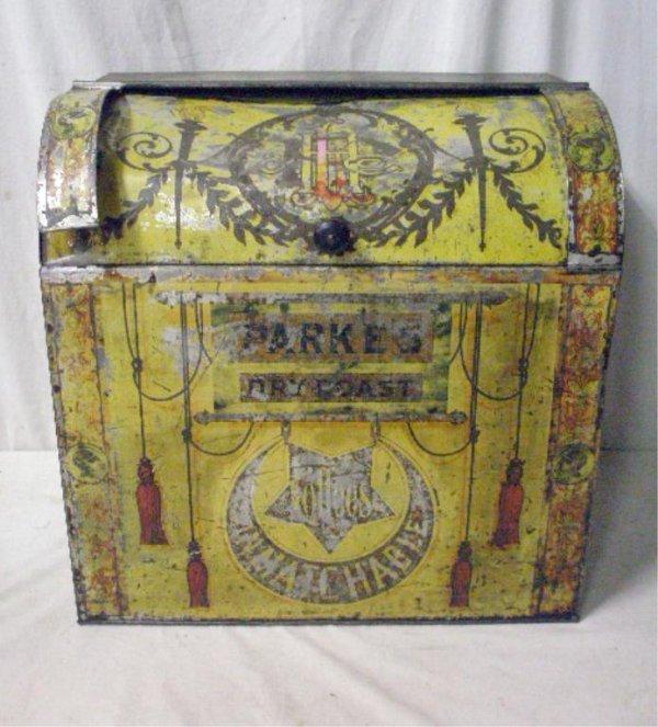 Victorian Toleware Coffee Container