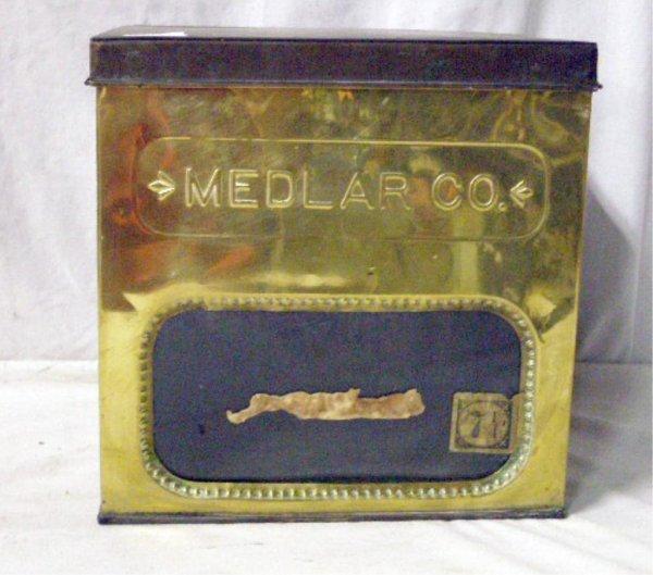Medlar Co. Biscuit Container