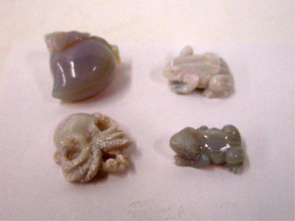 Opalite Miniature Carvings