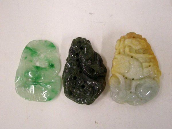 Jade Figural Carvings