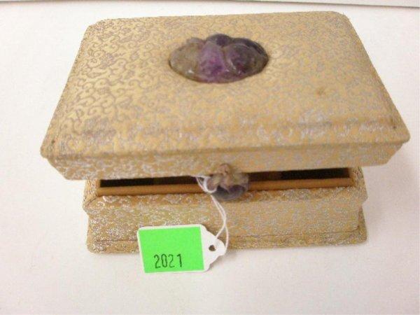 Amethyst Quartz Mount Box