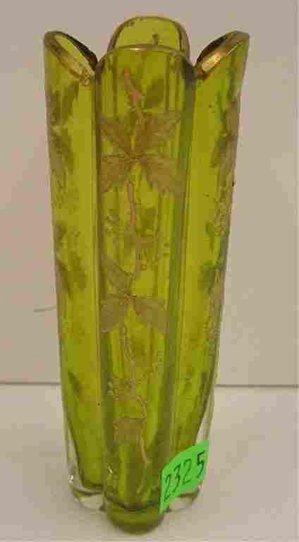 Moser Style Cabinet Vase