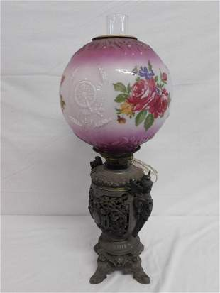 Gone With The Wind Fluid Lamp