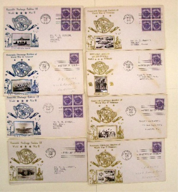 World War II Commemorative First Day Covers