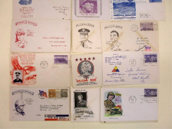 United States Army Generals First Day Covers