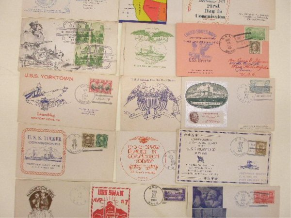 United States Navy First Day Covers