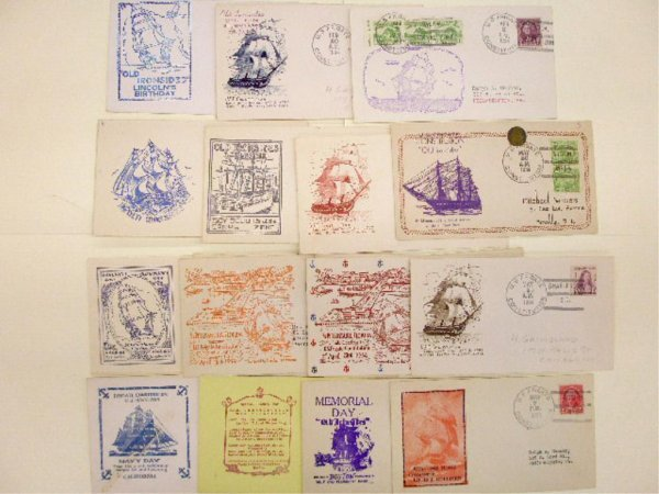U.S.S. Frigate Constitution First Day Covers