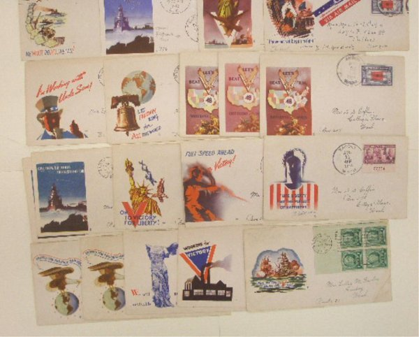 Jacques Minkus Designed Patriotic First Day Covers