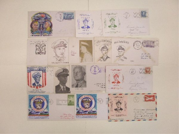United States Navy Admirals First Day Covers