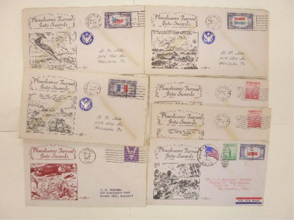 World War II First Day Covers
